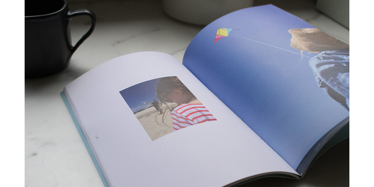 Recently documents your life via a monthly photo magazine