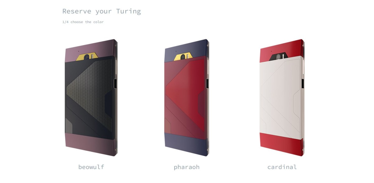 You can now reserve (but not pay for) the 'liquid-metal' Turing Phone