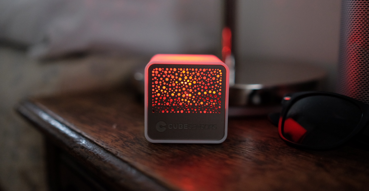 CubeSensors is an easy, but expensive, way to try the Internet of Things