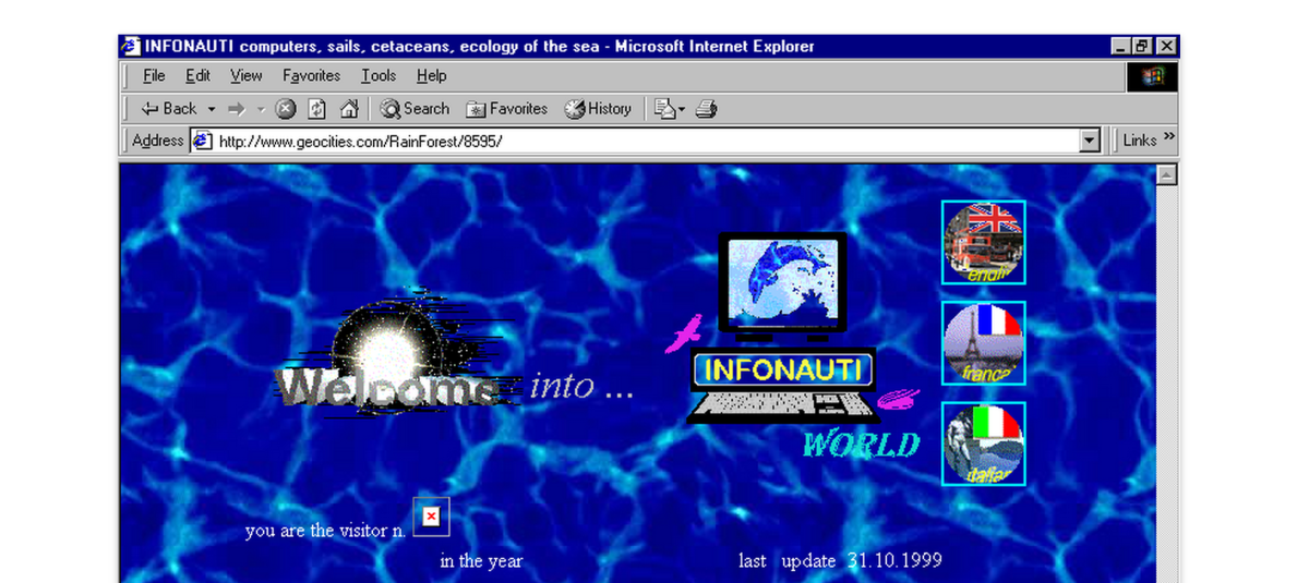 The modern internet sucks: Bring back Geocities
