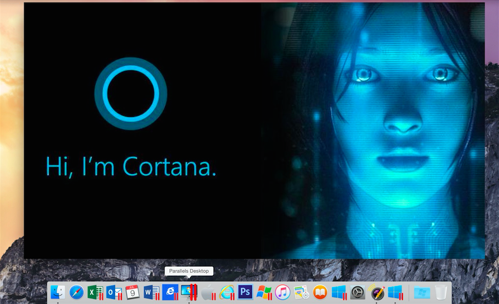 Parallels 11 brings Microsoft's Cortana to your Mac