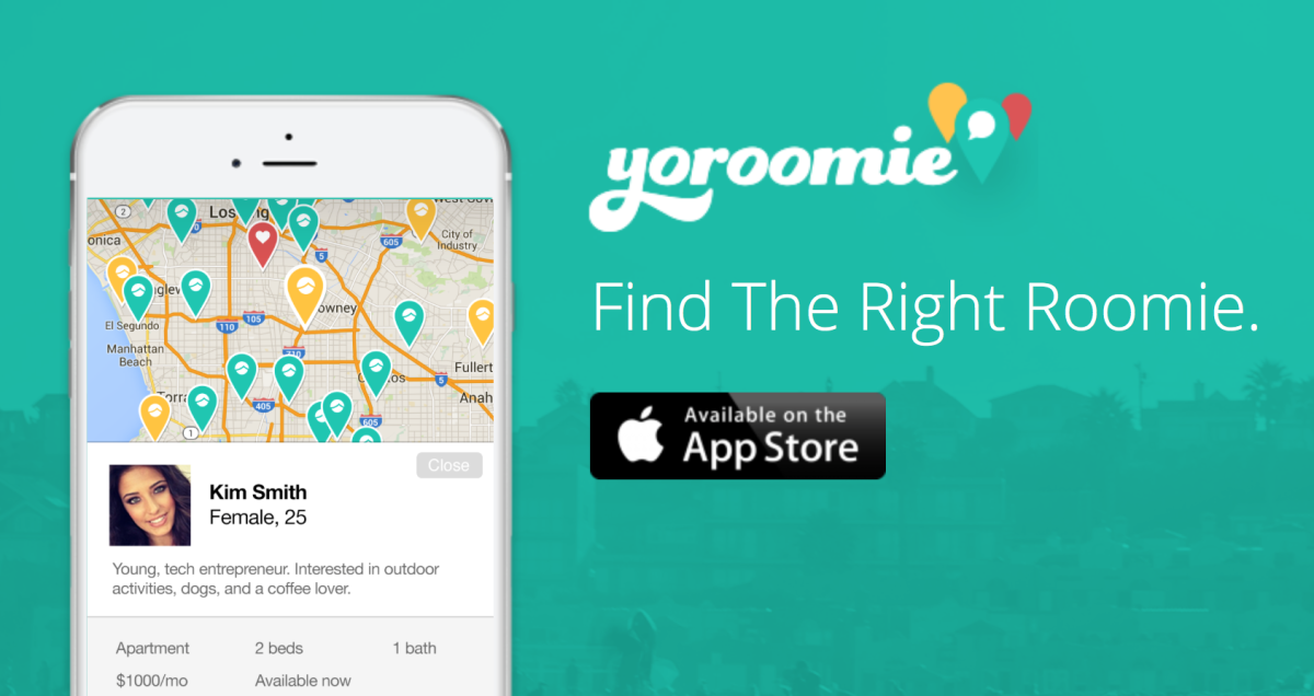 Yoroomie wants to help you find the perfect roommate before you even move