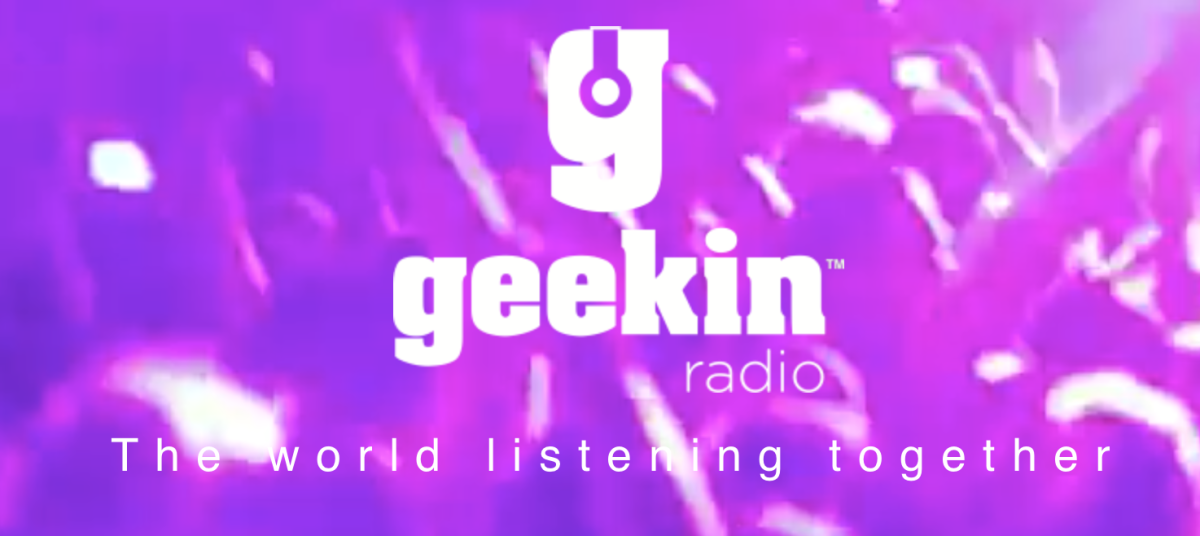 Geekin Radio ties streaming music to social like you've never seen (or heard) before