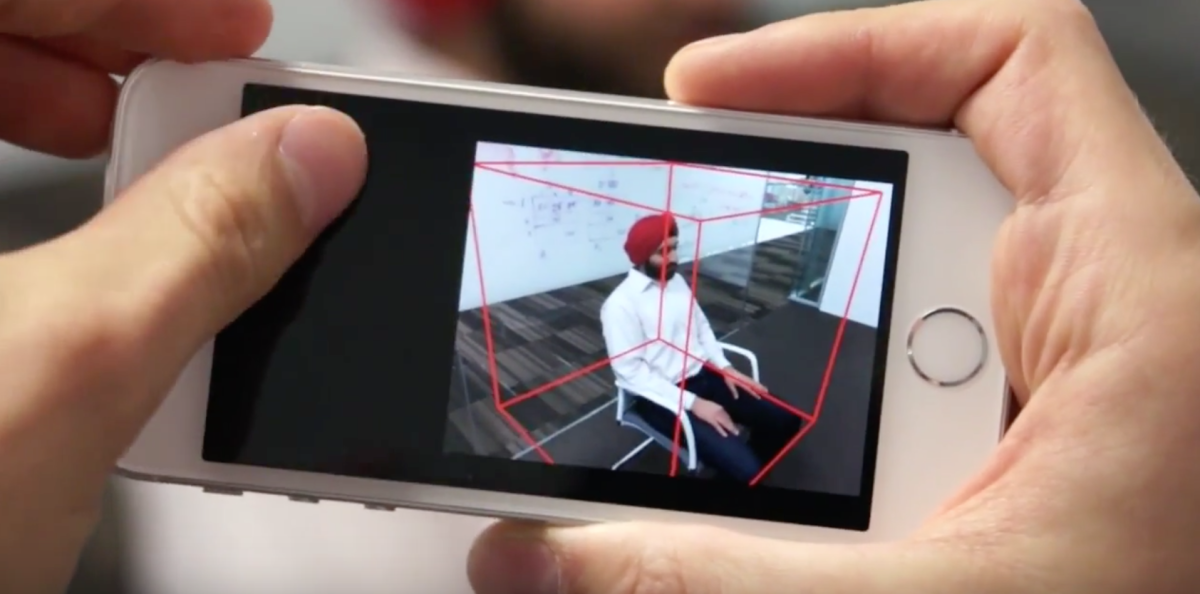 Microsoft Research's new app turns your phone into a 3D scanner