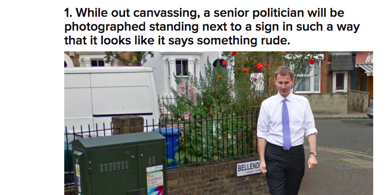 """From Tom Philips' """"25 Things That Will Definitely Happen In The General Election Campaign"""""""
