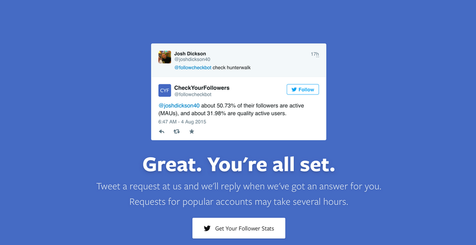 This experiment instantly tells you how real your Twitter followers are
