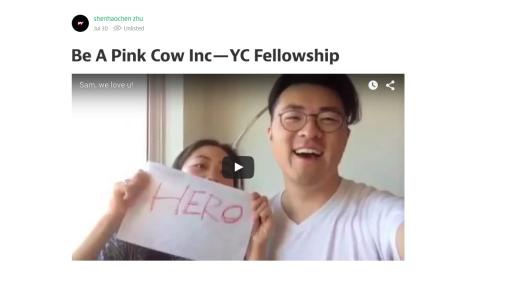 Porny devils of Pink Cow Inc