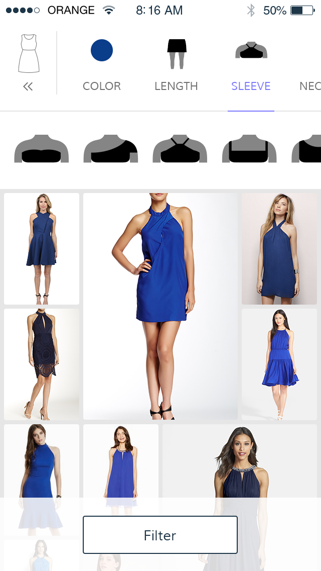 Donde Fashion lets you tap your way to your next fabulous outfit