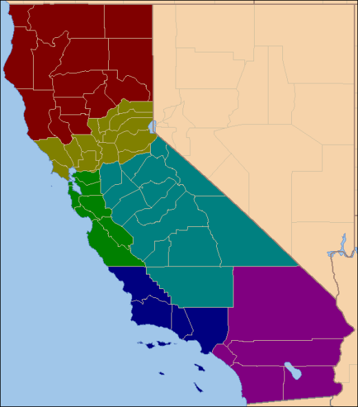The 'six state' solution for California