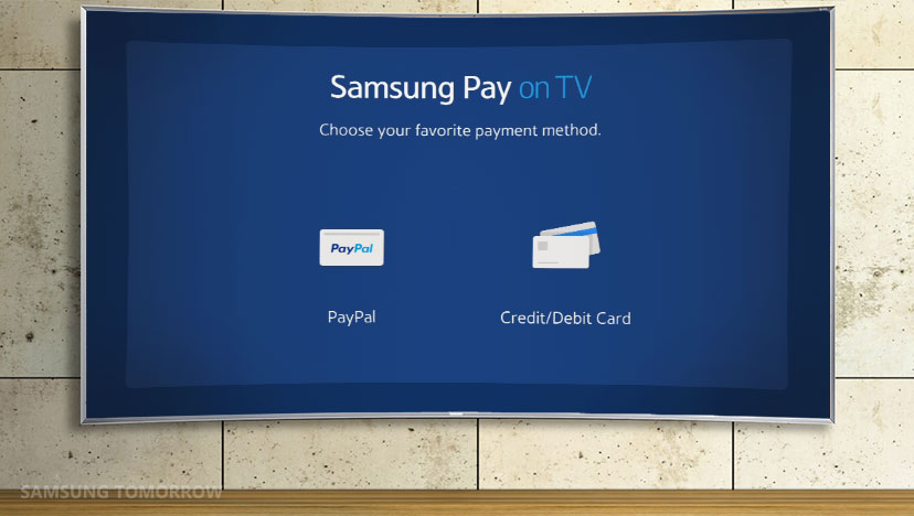 Samsung Pay on TV lets you buy movies, games and apps but still no mobile service in sight