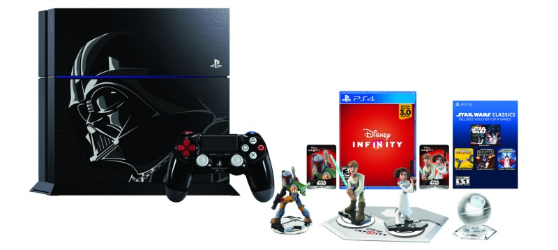 The Limited Edition Disney Infinity 3.0: Star Wars PS4 Bundle