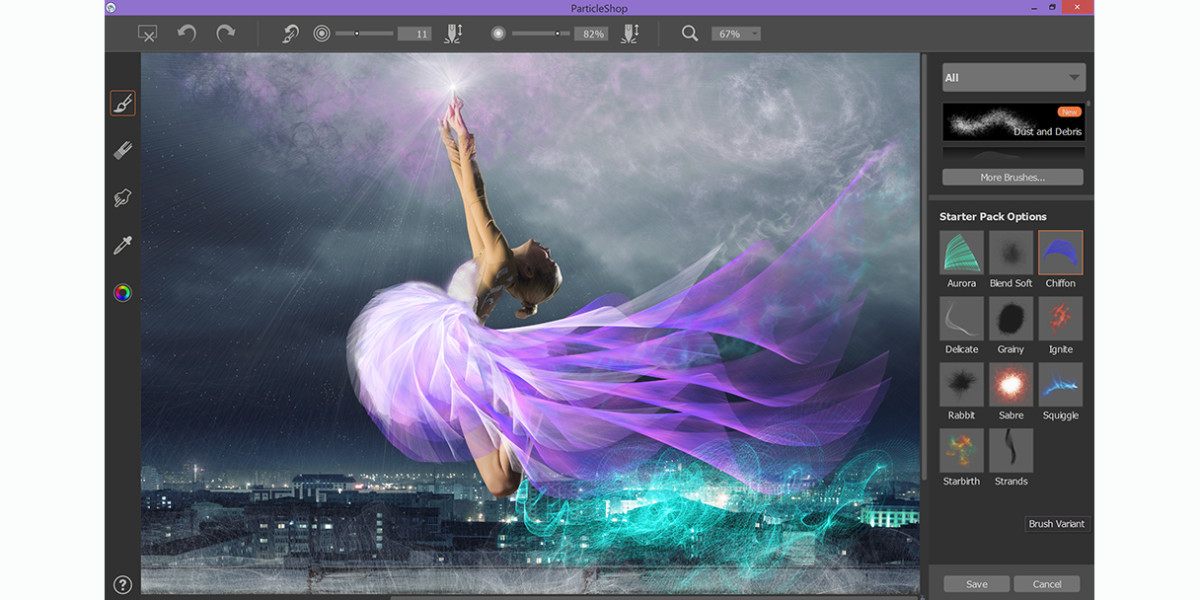 Corel debuts ParticleShop brush plug-in for Photoshop, featuring dynamic special effects