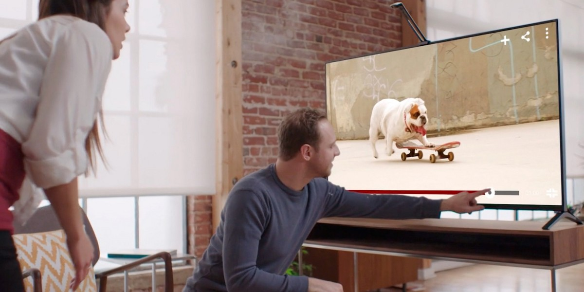 Touchjet Wave will turn your TV into a giant touchscreen Android tablet, but it needs cash first