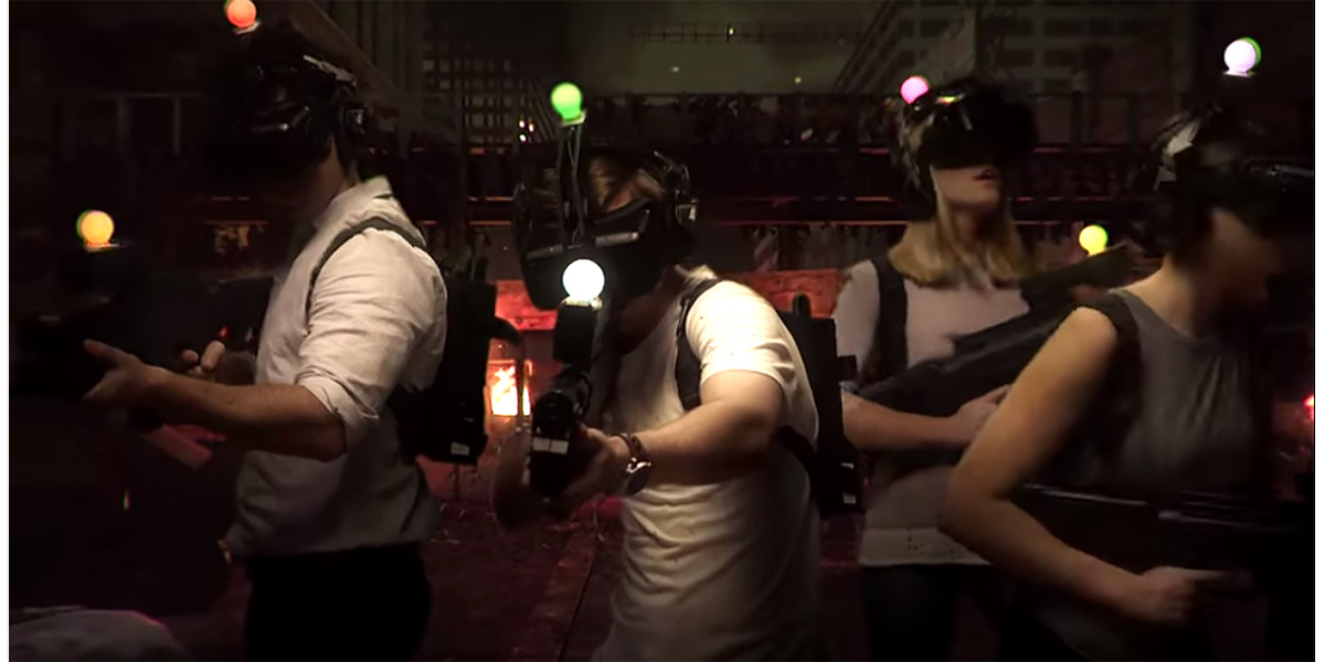 Huge virtual reality entertainment center debuts in Australia