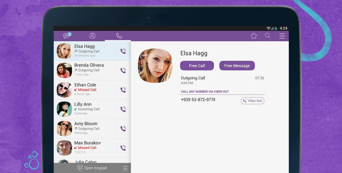 Viber update brings improved call UI and animated stickers to its iOS and Android apps