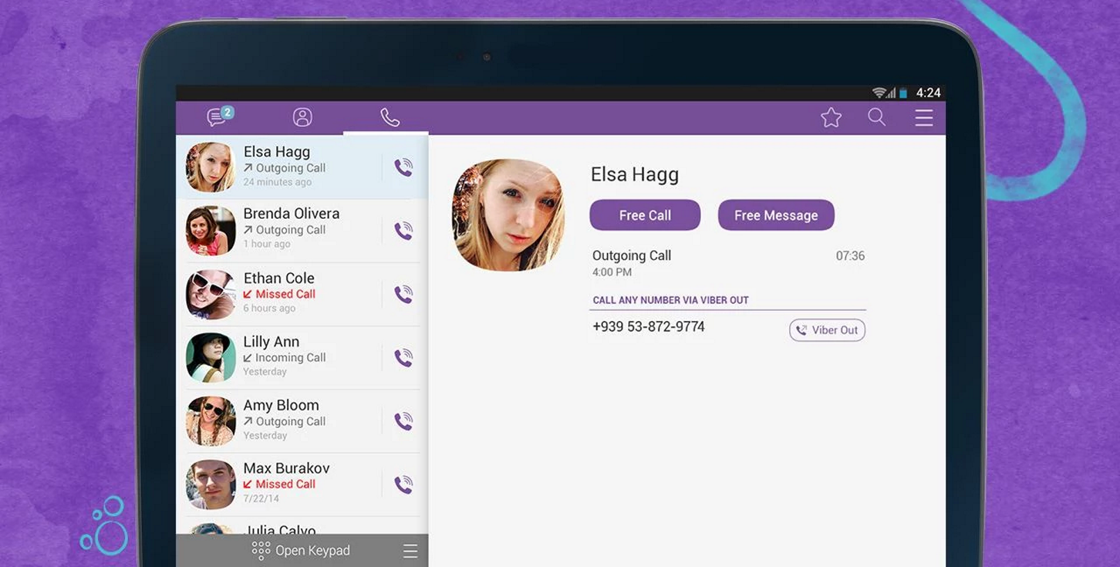 Viber now has animated stickers and a tweaked call UI on ...