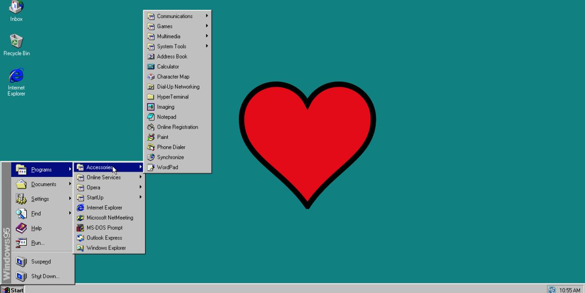 I loved Windows 95 and I bet you did too: Enjoy the nostalgia trip