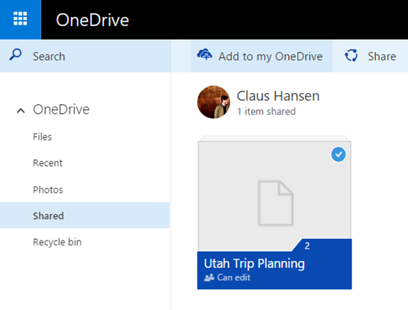 Microsoft's OneDrive now notifies you when someone is making changes to shared files