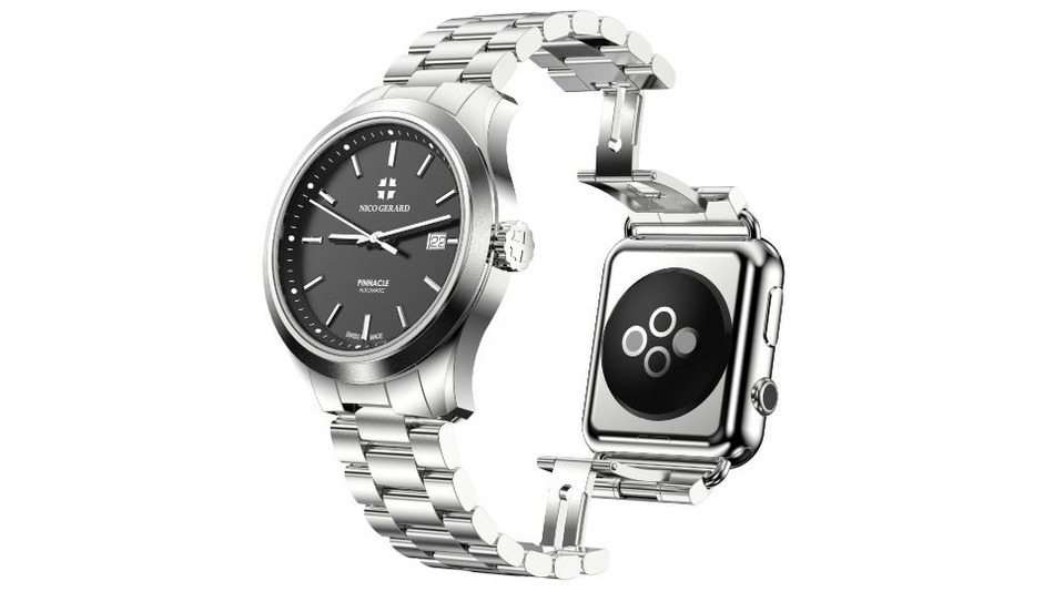 Literally why does this luxury watch have an Apple Watch attached to it?