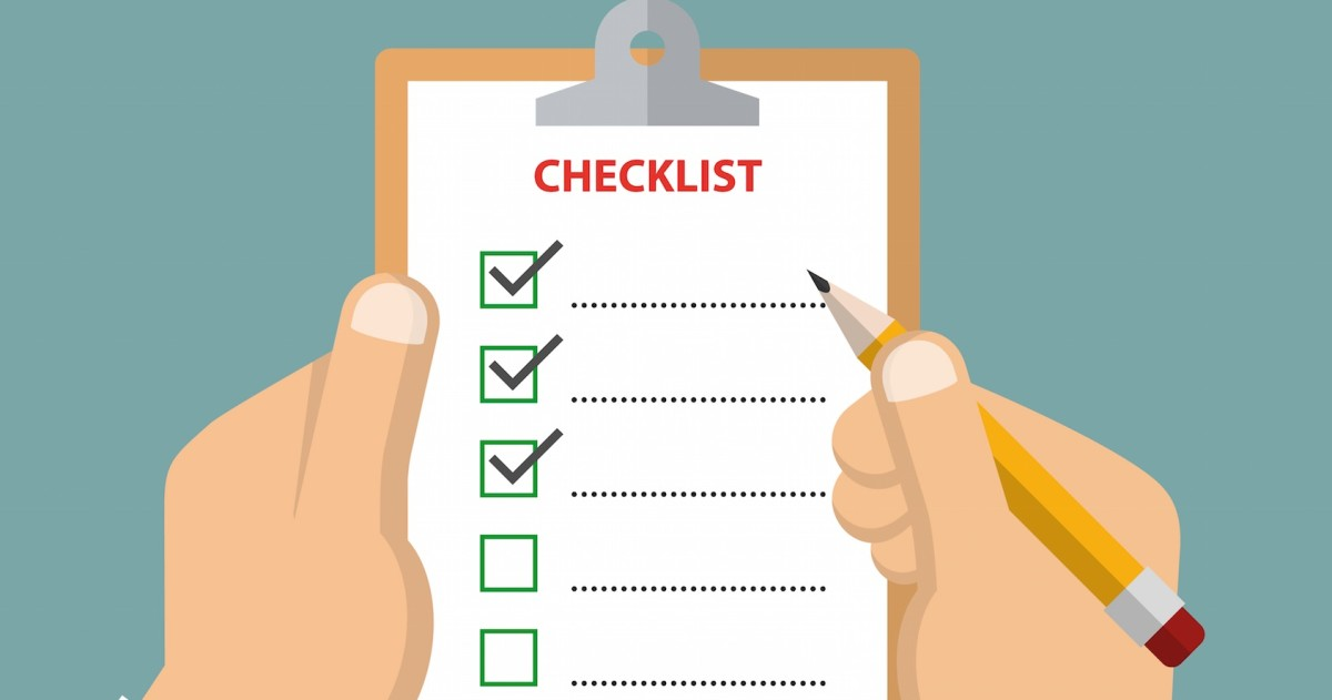 The A/B test checklist