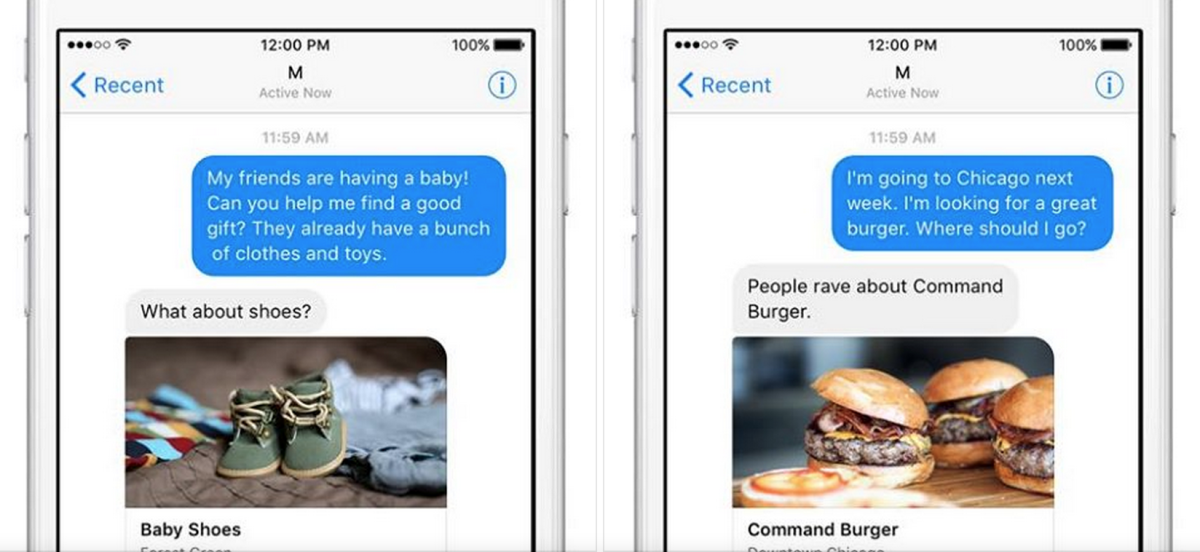 Facebook's M is a Siri-like personal assistant for Messenger