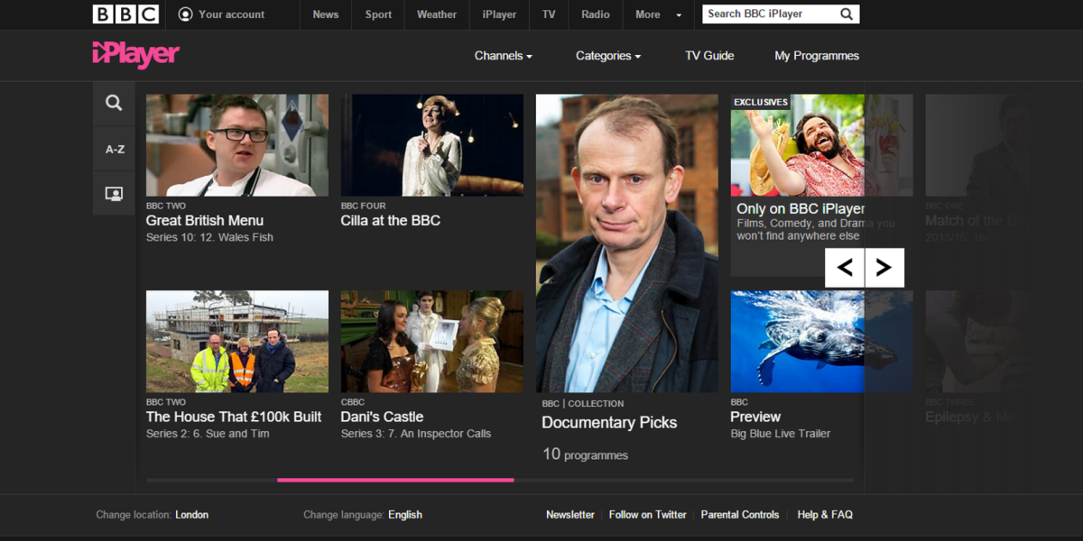 BBC's iPlayer service is getting more Netflix-style features, including cross-device resume