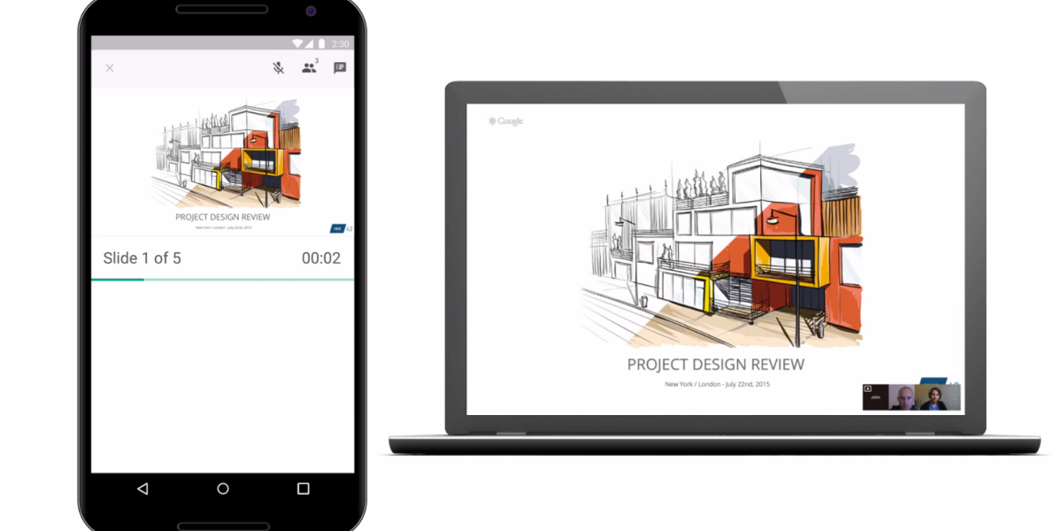 Google updates Keep and Slides, allowing you to present on video calls and export notes to Google Docs ...