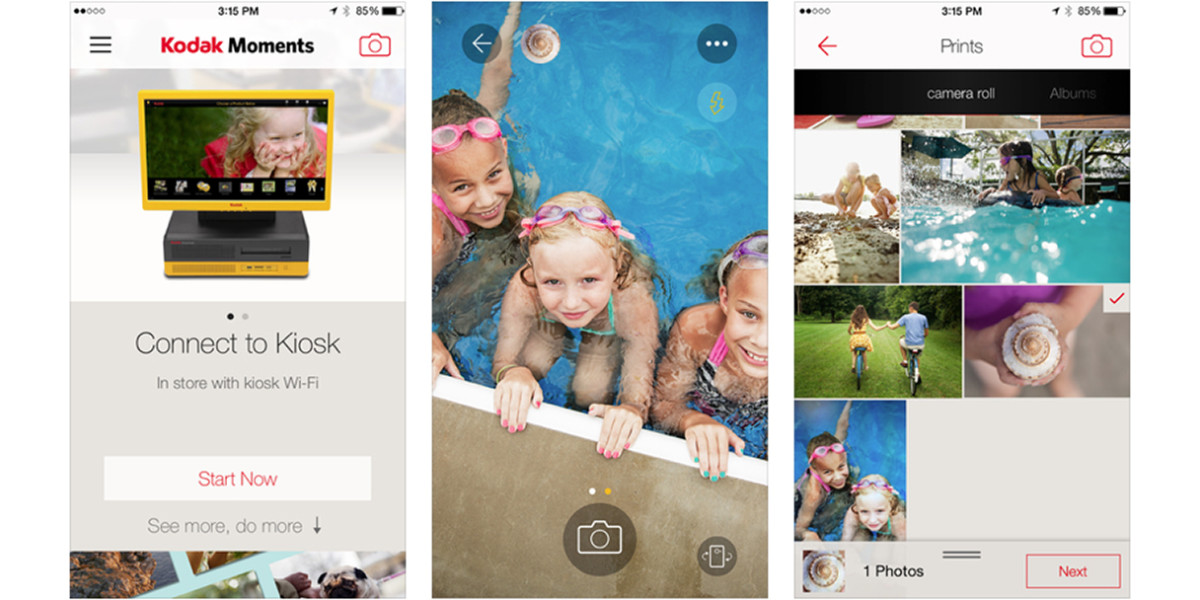 Kodak Moments app update lets you share and print photos more easily