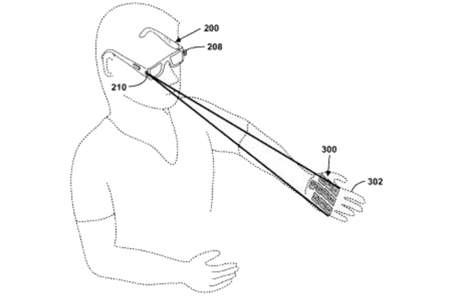 Google laser glasses. Because that's totally cool and not alarming at all.