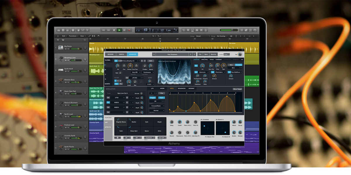 Apple updates Logic Pro audio workstation, adding Alchemy to the mix