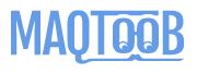 maqtoob logo