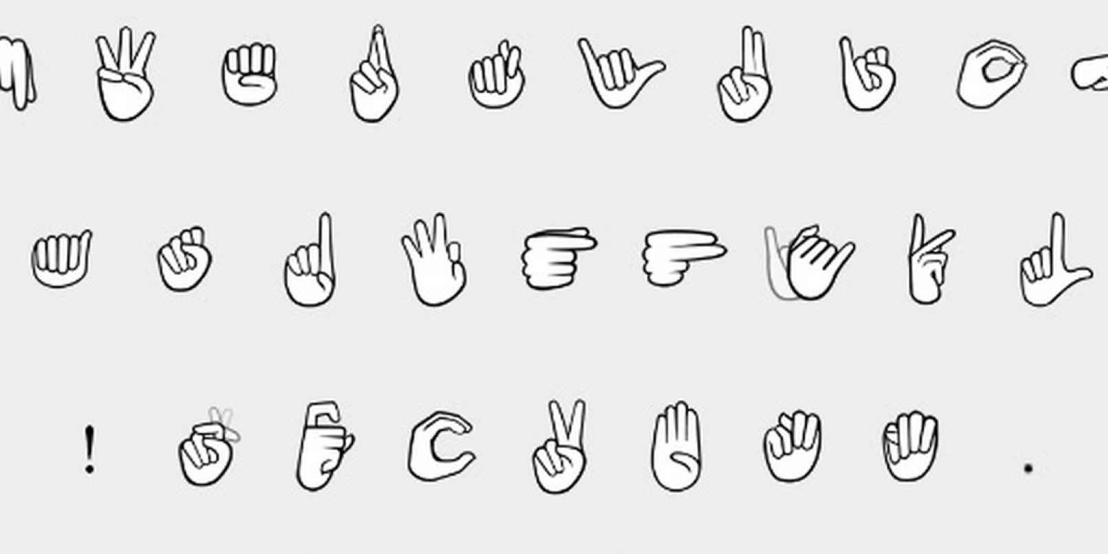 importance and use of sign language in The guardian - back to home make this sort of research might eventually lead to advances in the use of technology for second-language creativity and the.