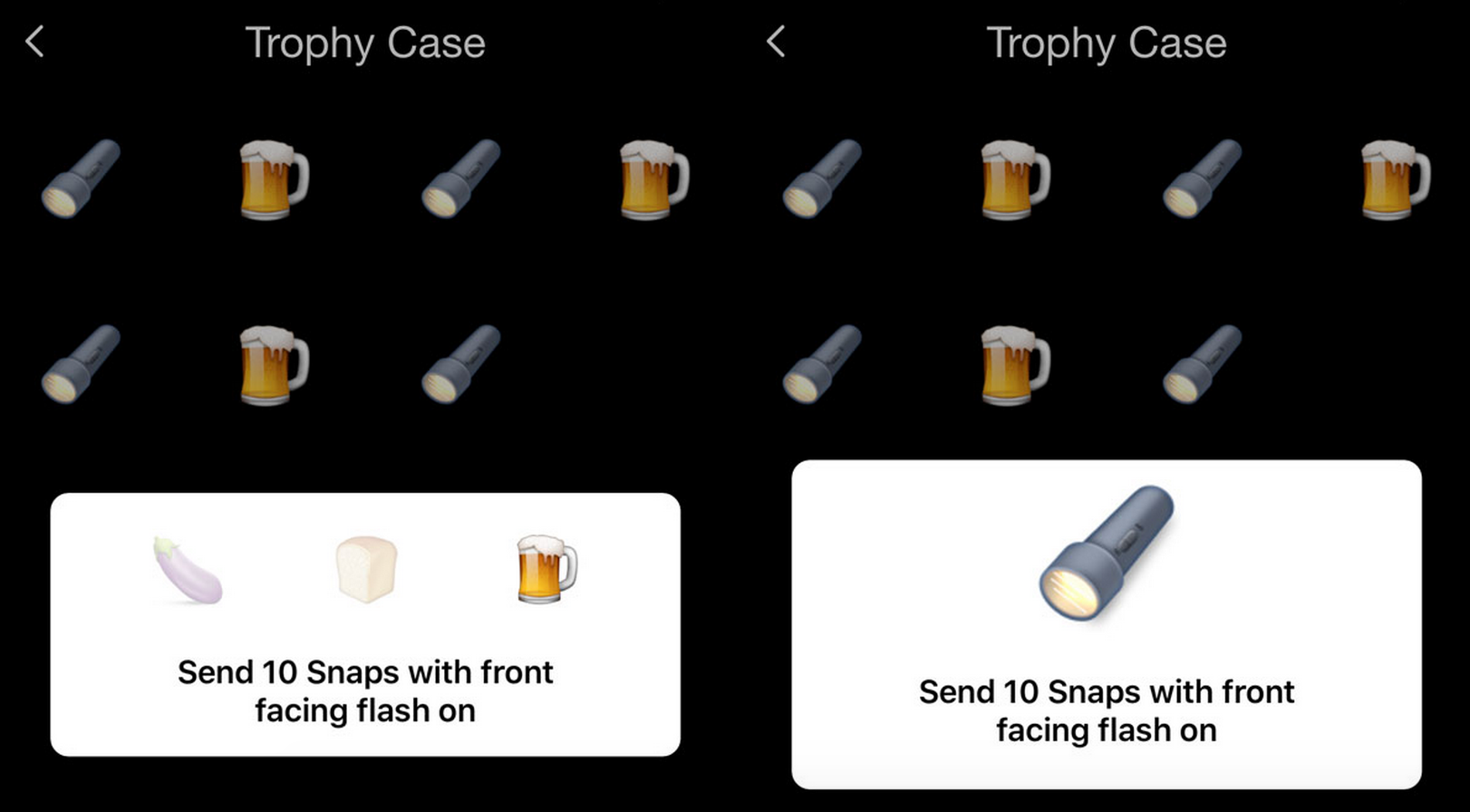 Snapchat has a mysterious new trophy case for achievements