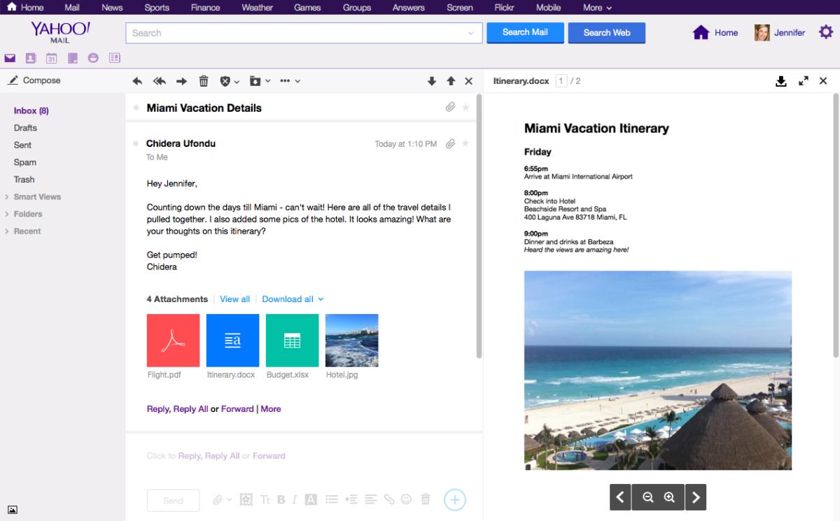 W w w yahoo mail - 01 Marketing Screenshot