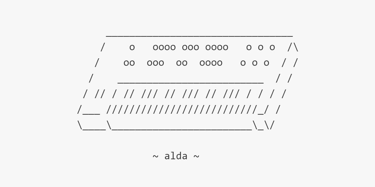 Alda is a new programming language that lets you compose music in a text editor