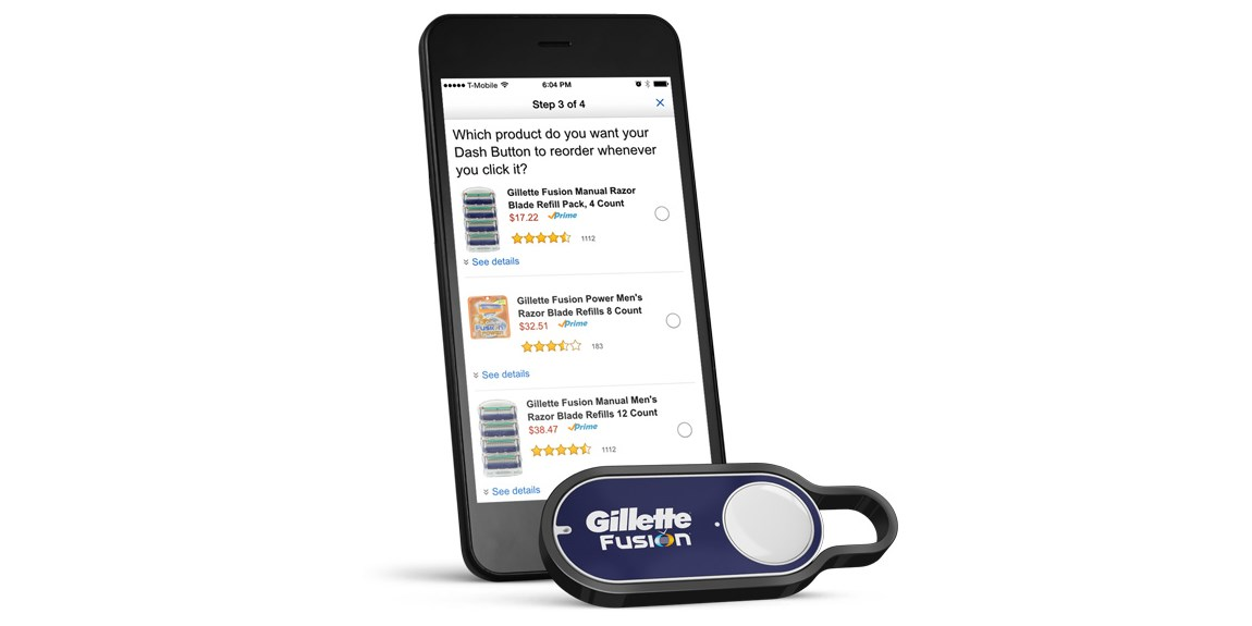 How to use an Amazon Dash button to find your phone