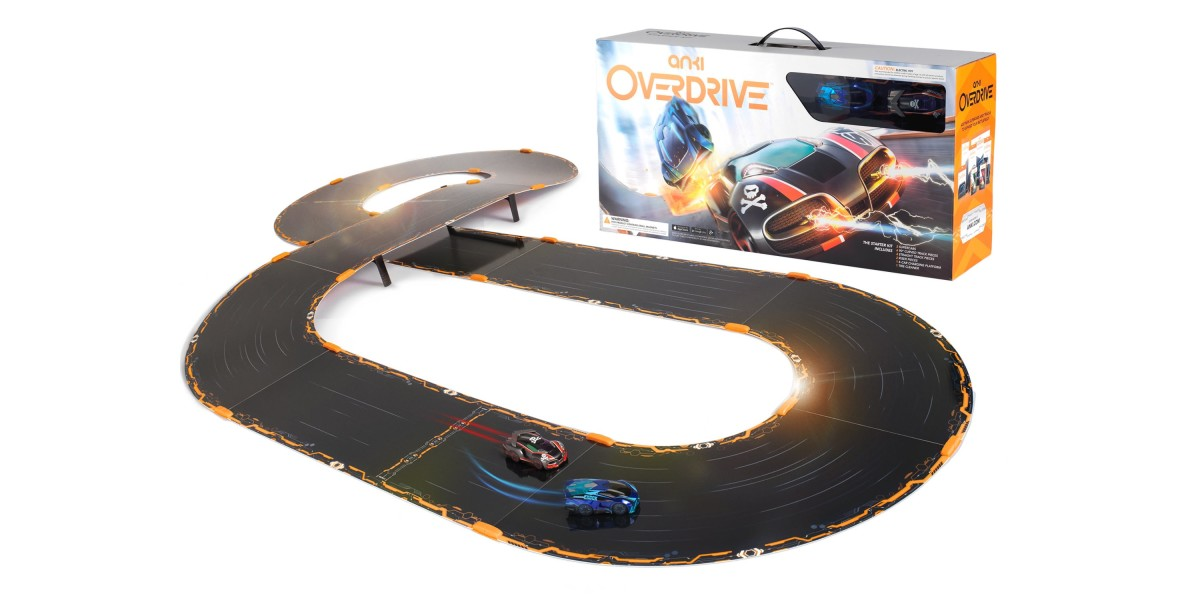 Anki's phone-controlled slot car racing game goes into Overdrive in the UK next month