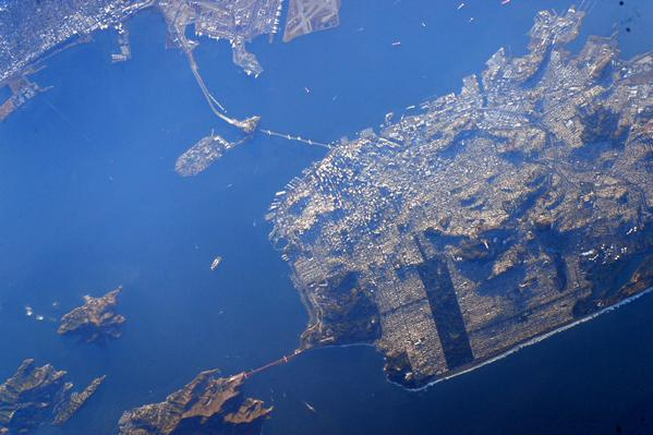 See what San Francisco looks like from space