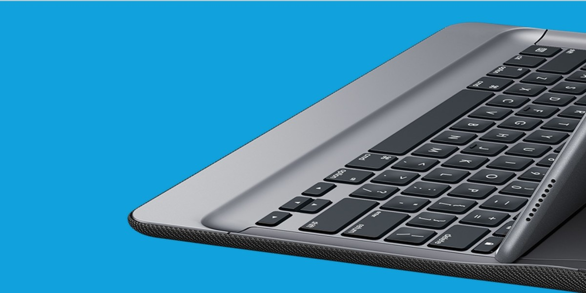 6e4310b79dc Logitech's first iPad Pro keyboard never needs charging