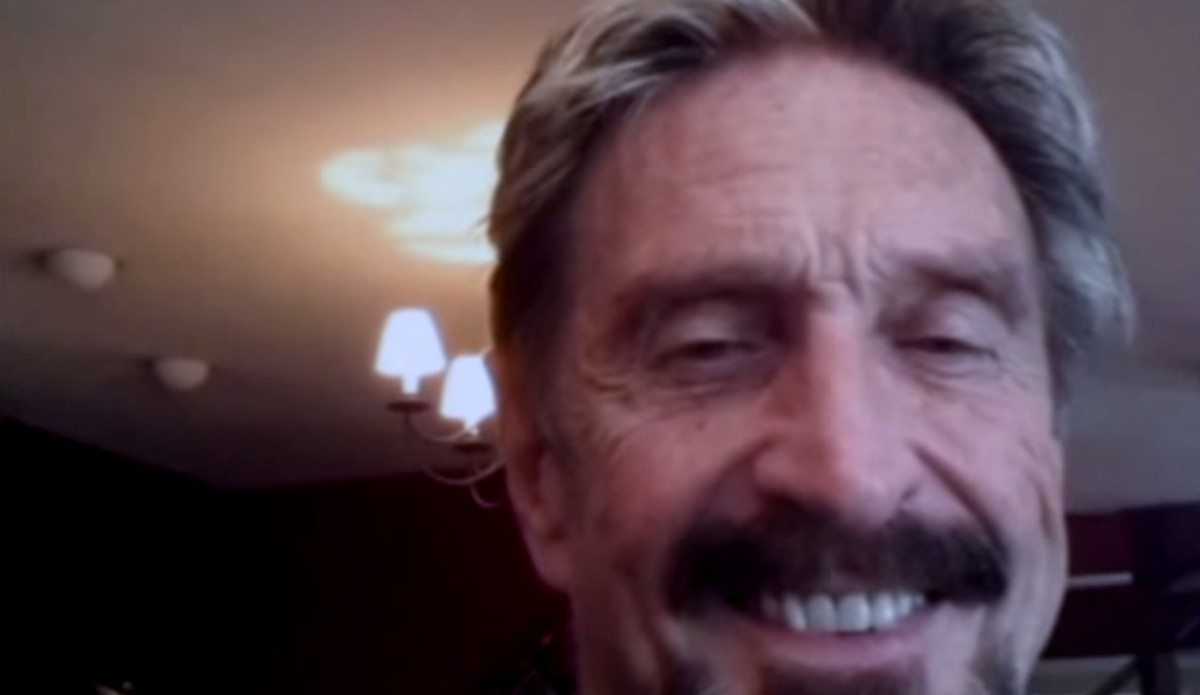 John McAfee might run for president