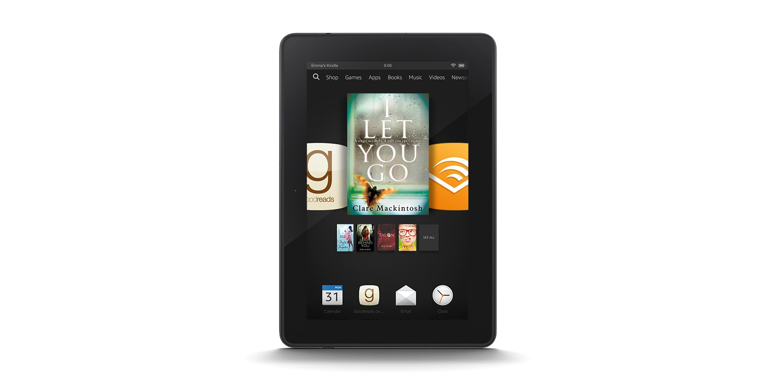 Goodreads recommendations coming to UK Kindle, Fire devices