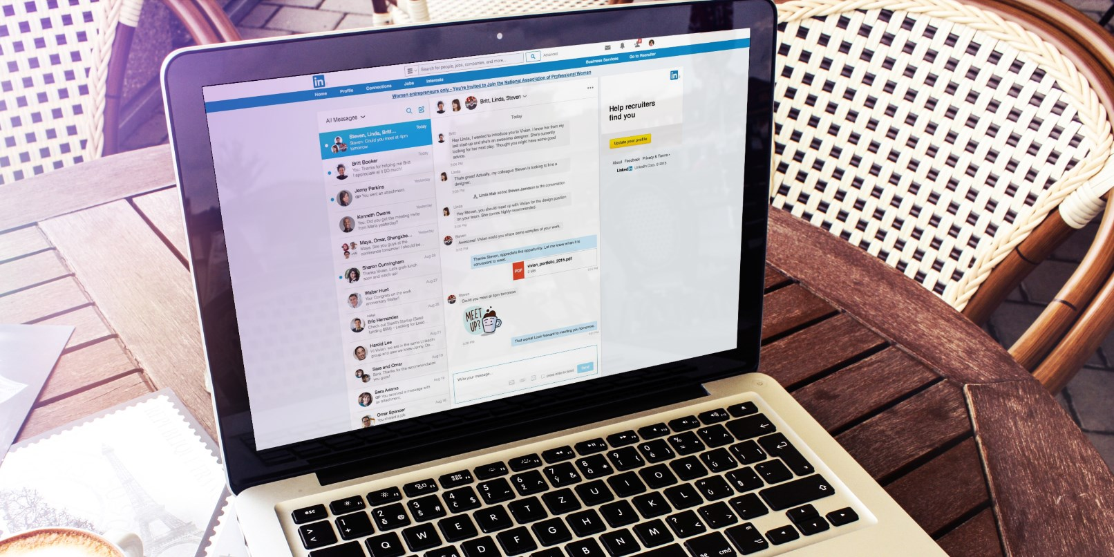 LinkedIn is revamping its painful messaging service