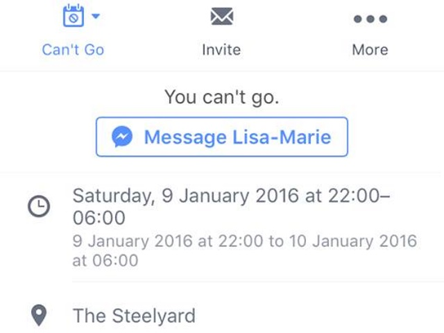 Thought event read receipts were bad? Now Facebook wants you to explain your absence