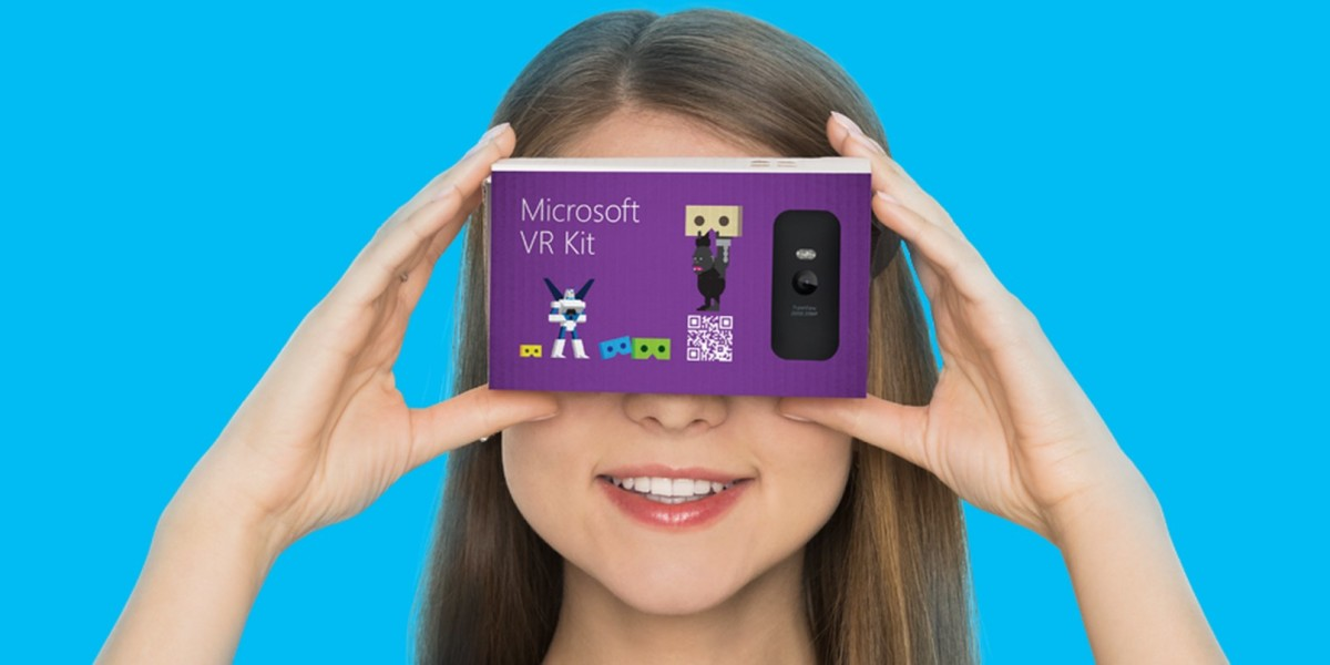 Microsoft is preparing to take on Google Cardboard with VR Kit
