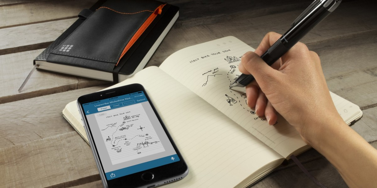 Livescribe teams up with Moleskine to create a special edition smartpen for handwriting fans