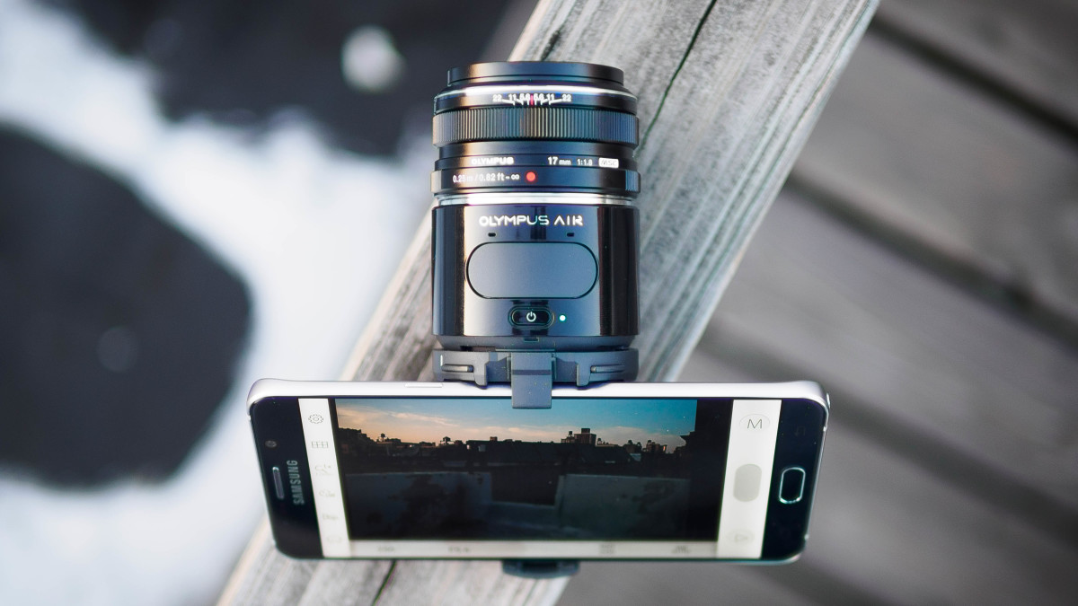 Olympus Air A01 Review: A taste of the future of photography