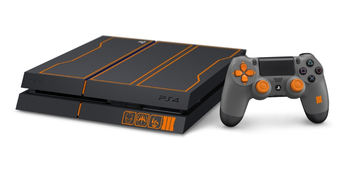 The $450 Call of Duty: Black Ops III PlayStation 4 bundle comes with a 1TB drive