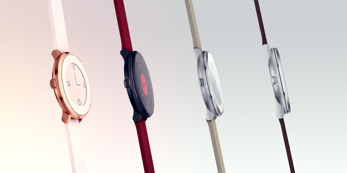 Pebble launches its first round smartwatch, arriving in November from $249