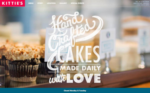 Hand Crafted Cakes website