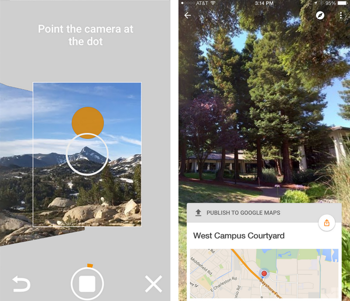 Googles New Street View App Lets You Upload Your Own Images - Google maps street view us windows 10